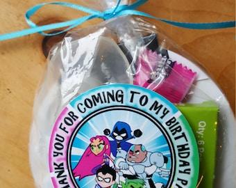 Teen Titans Go Favor Bag - Personalized