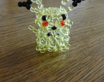 Handmade Beaded Pikachu Pokemon - Figurine / Key Ring