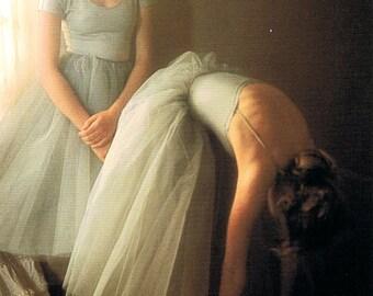 Vintage Original Postcard Dancers - David Hamilton - 70's-80's - French Edition