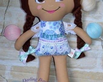 Fully Customised Fabric Rag Doll | Shabby Doll | Handmade Doll | Soft Toy | Cloth Doll | Softie | Dolly