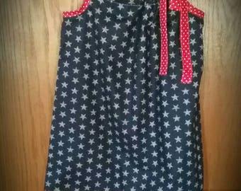 Red White & Blue Pillowcase Dress