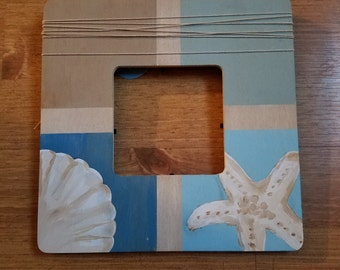 Shell and Starfish Picture Frame