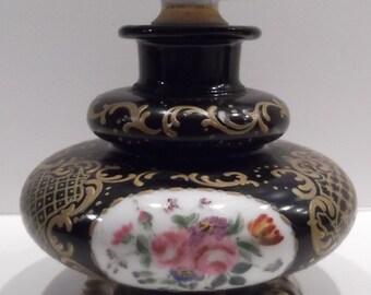 Antique Porcelain Caddy