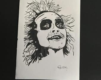 Beetlejuice illustration