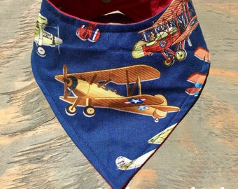 Vintage Airplanes Planes Little Aviator Kids Art Prints Set
