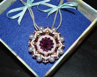 Amethyst Love Necklace