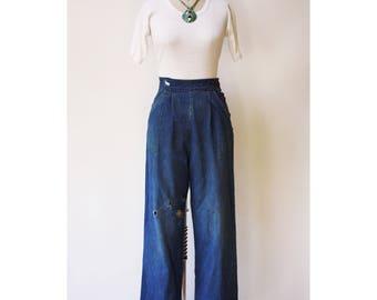 Vintage 1940s Ranch Jeans XS