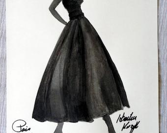 Vintage Fashion Paris 1950s