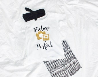 Picture Perfect Todder Tee, Baby Onesie