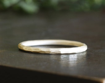 14k gold carved ring, eco friendly, wedding ring, rustic ring, handmade