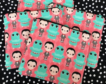 Pee Wee Herman and Chairry Zipper Pouch - Coin Purse