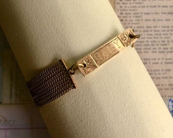 Gold Filled Victorian BABY Bracelet for Mama or Baby