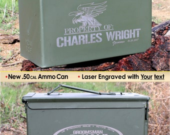 Ammo can, Birthday gift, Mens gift, Personalized ammunition box, Dad gifts, Storage box army green gift box Birthday gifts for Him