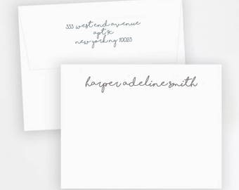 Stationery, Personalized Stationery, Custom Stationery, Monogram Stationery, Envelopes with Return Address
