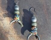 Balter - Primitive Dangle Earrings - Beadsnbones