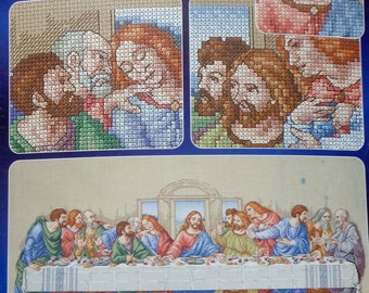 Counted Cross Stitch Kit | THE LAST SUPPER | Praying Hands Collection | Designs For The Needle