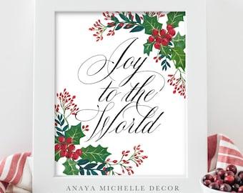 Printable Bible Scripture Prints in ENGLISH by AnayaMichelleDecor