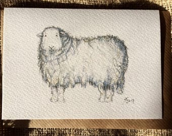 Herdwick Sheep card