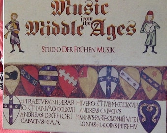 Music from the Middle Ages, a  5-disk set of Medieval music CDs (the 12th to the 14th centuries)