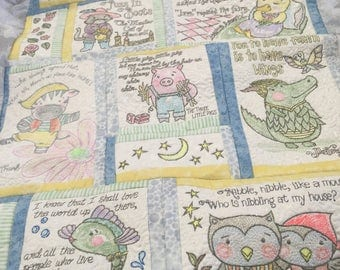 Fairy Tail Baby Quilt