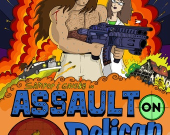 """Issue 3: """"Assault on Pelican Grove"""""""