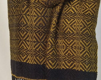 Handwoven Scarf, Vintage Style
