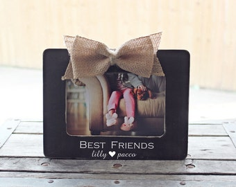 best friends gift best friends picture frame sisters are forever gift personalized sister picture frame sister frame gift