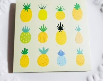 Pineapple Scented Facial Blotting Paper - Yellow Pineapple