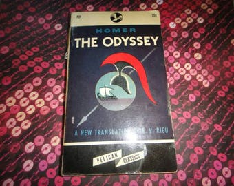 Vintage The Odyssey 1946 Book Vintage nice condition