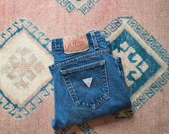 Vintage 90s High Waisted Guess Jeans Size 29