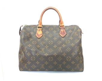 Authentic Louis Vuitton Vintage Speedy 30 LV Designer's Hand Bag