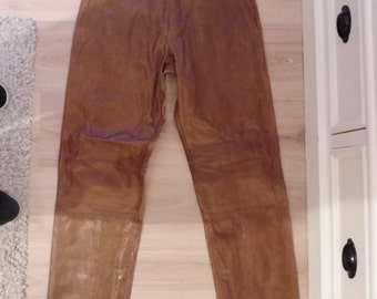 BANANA REPUBLIC leather pants size 38 EN (W29)