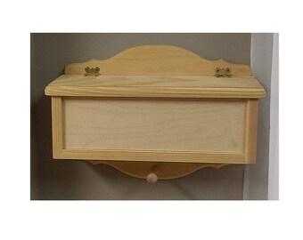 Wooden letters box / Boite aux lettres en bois