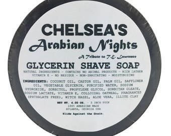 Chelea's Arabian Nights Shaving Soap
