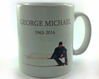 New George Michael 1963-2016 Mug Cup 11oz Tribute Remember Rest In Peace RIP Music Fan Lover Remember Gift Present Memorabilia