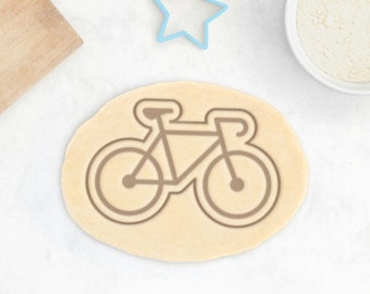 Bicycle Cookie Cutter - Fixie Bike Cookie Cutter Sports Delivery Scooter Unicycle BMX Cookie Cutter - 3D Printed