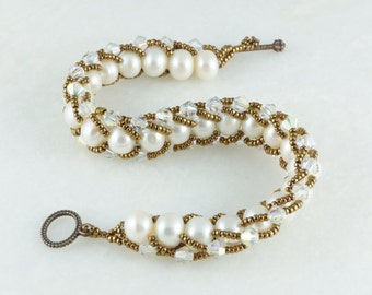 Underwater Pearls Bracelet