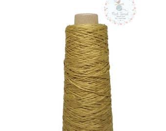 100% Mulberry Yarn (Thai Silk Yarn) #20 Kibiso Brown