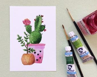 postcard Cactus
