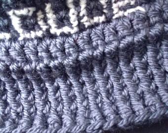 COOL DUDE! Crochet male hat