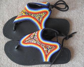 African Masai Sandals