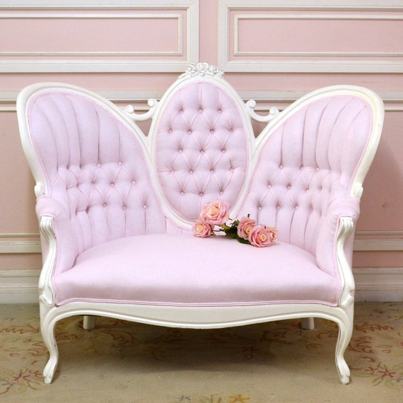 shabby slipper pink linen fabric shabby cottage chic romantic do it yourself projects fb lo. Black Bedroom Furniture Sets. Home Design Ideas