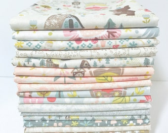 1/2 Yard Bundle Goldilocks by Jill Howarth for Riley Blake Design- 18 Fabrics