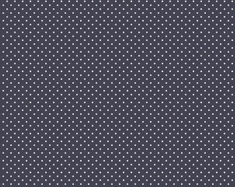1 Yard Les Petits by Amy Sinibaldi for Art Gallery Fabrics - Petits Stipples- 610 Midnight