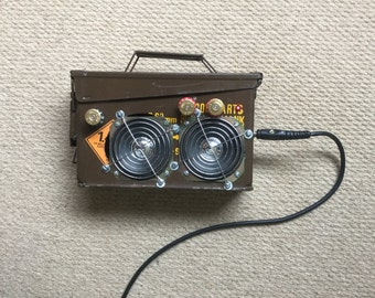Portable Ammo Box Guitar Amplifier with Bluetooth