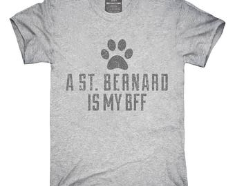 Cute St Bernard Dog Breed T-Shirt, Hoodie, Tank Top, Gifts