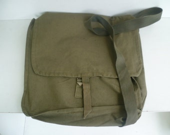 Vintage Military Bag For Hunters, Fishers, Rockers, Geologist, Student,  Army Canvas Bag, Messenger bag, military bag, soldier bag,