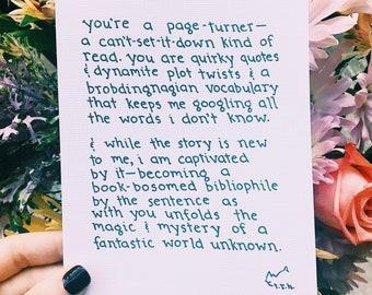 Poem: Read // NOTESONTHEWAY