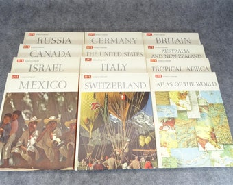 Life World Library Set Of 12 Volumes Circa 1960's
