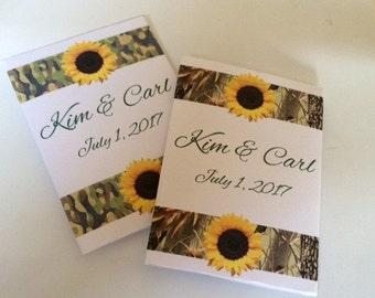 Camo Wedding Favors, Camo Gifts, Camo Decor, Camo Girl, Camo Party,